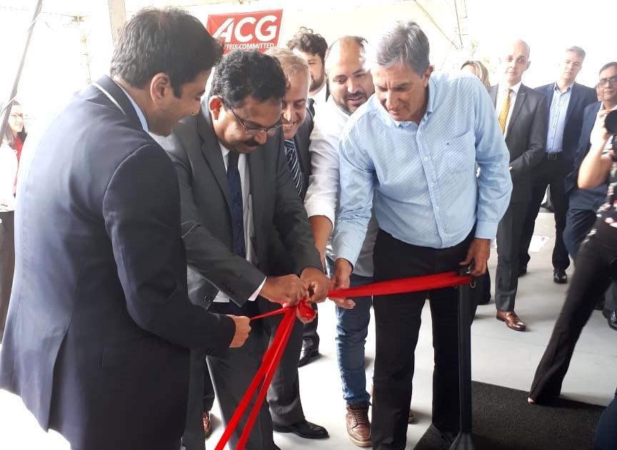 Inauguração oficial da ACG
