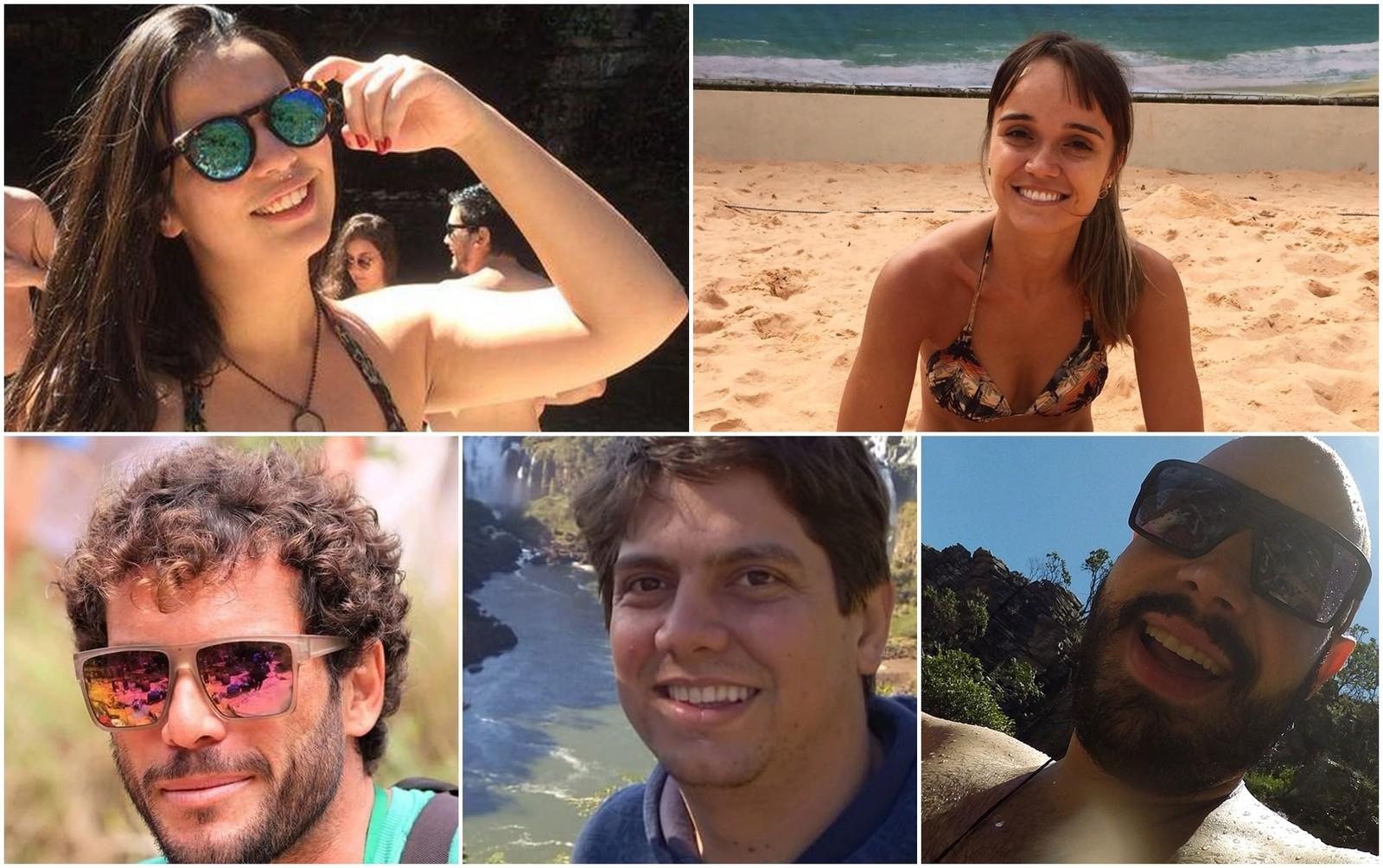 Fotos das vítimas