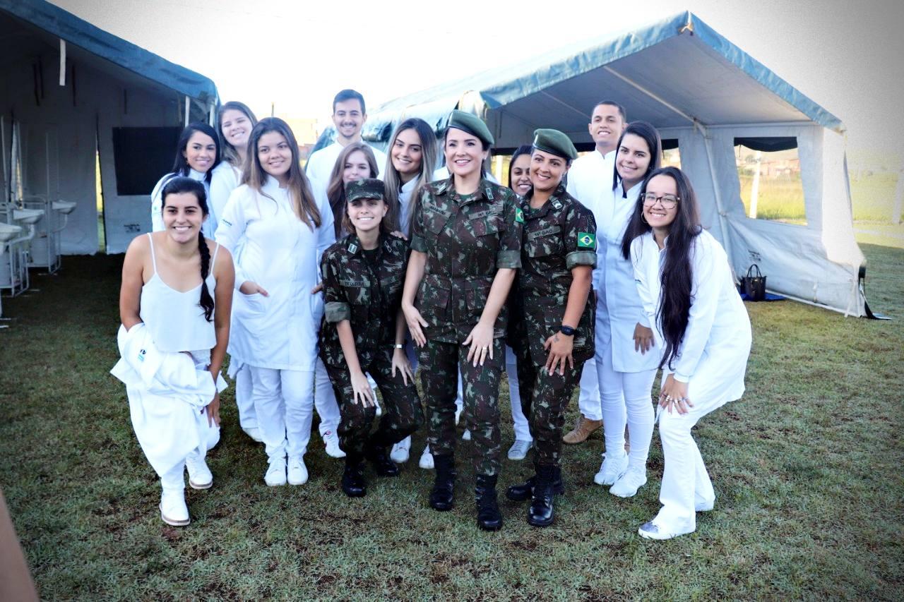 Exército na escola