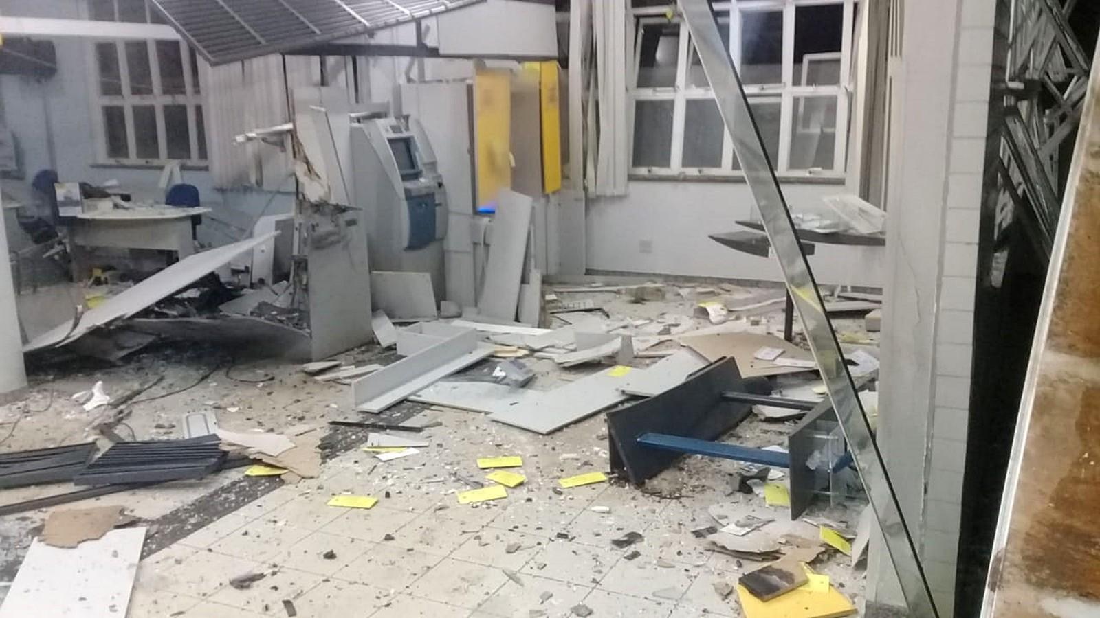 Ataque a agência em Coqueiral