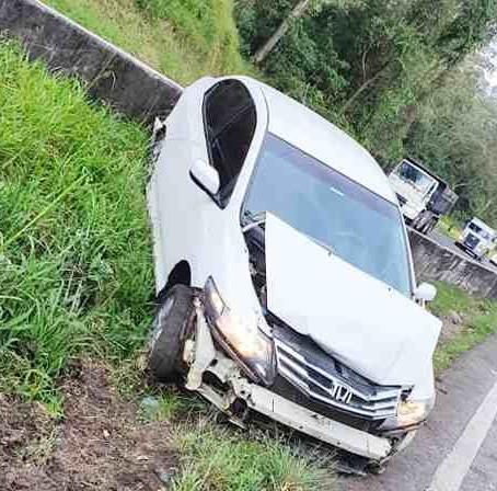 Vereador de Pouso Alegre sofre acidente na Fernão Dias
