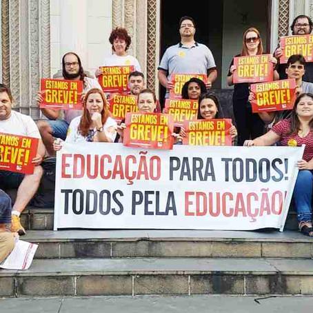 Greve dos professores: Pouso Alegre tem ao menos 5 escolas estaduais afetadas
