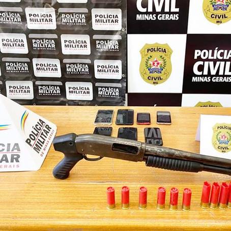 Operação conjunta da Polícia Civil e PM prende suspeitos de homicídio e tráfico