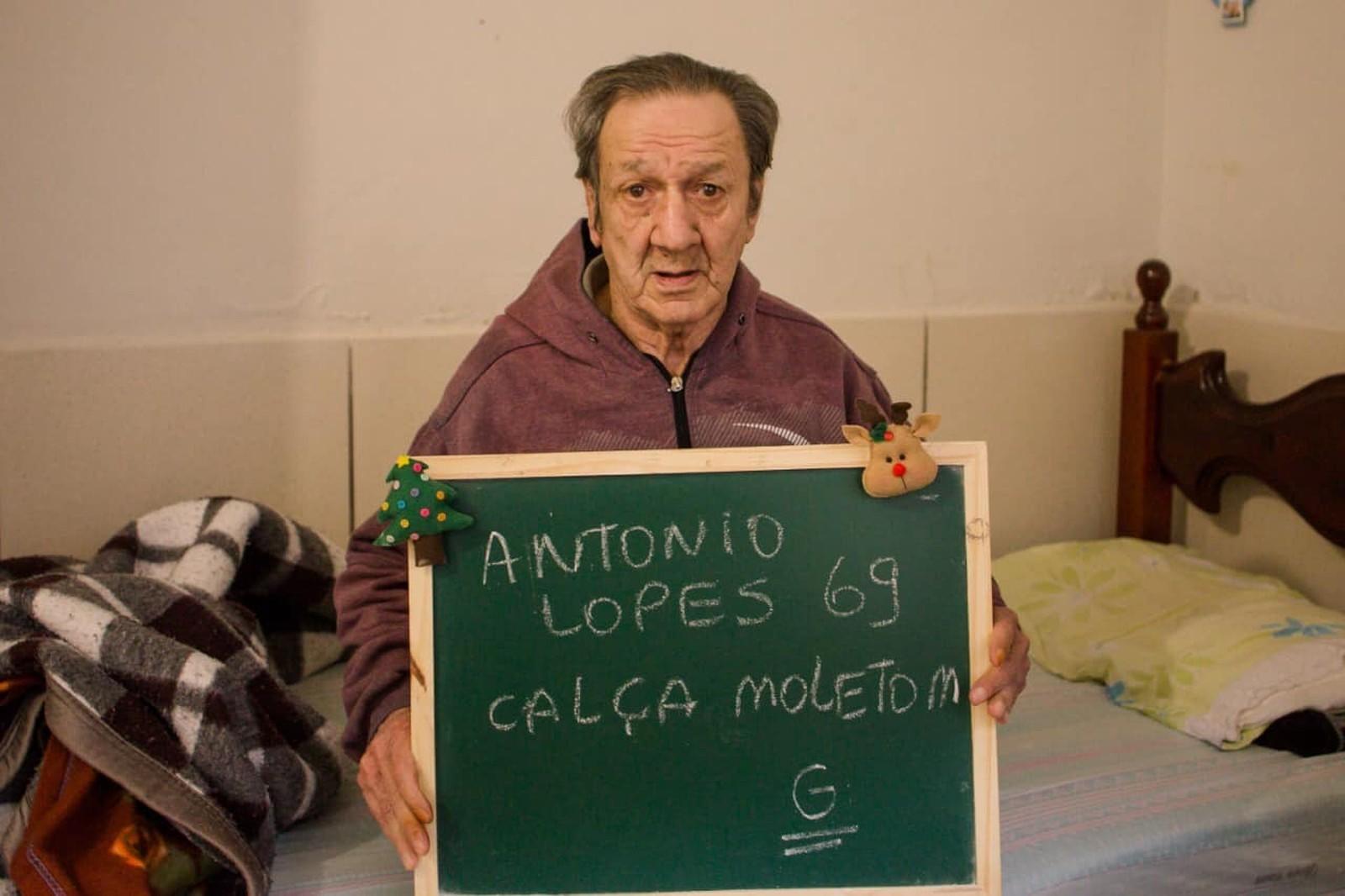 Campanha de Natal em asilo