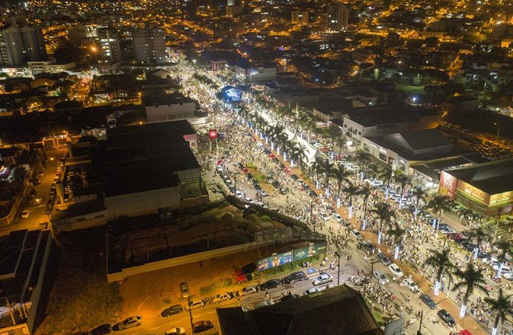 Festa da Virada em Pouso Alegre
