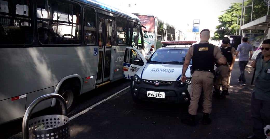 Paralisação no transporte público