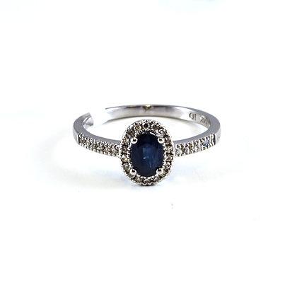 14ct Diamond Sapphire