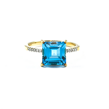 9ct Yellow Diamond Topaz