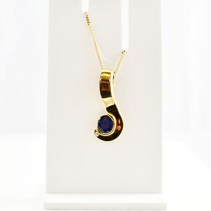 14ct Sapphire