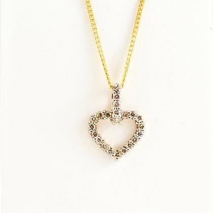 9ct Diamond Heart