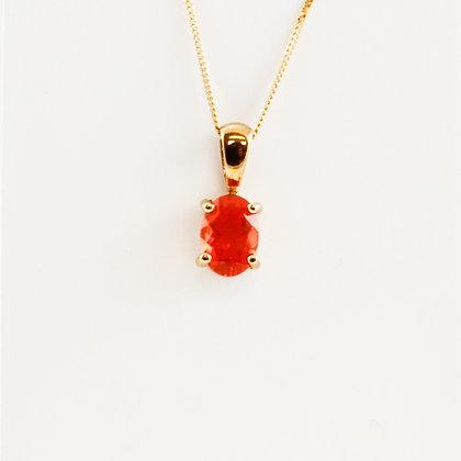 9ct Orange Sapphire