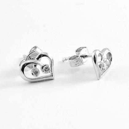 9ct Diamond Hearts