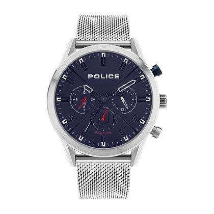 Police Silfra Silver Mesh Bracelet