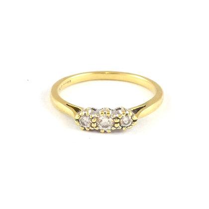 18ct Diamond 3 stone