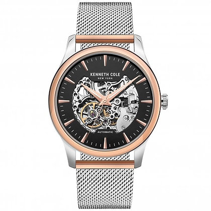 Kenneth Cole Steel Skeleton Automatic (Rose Gold Edition)