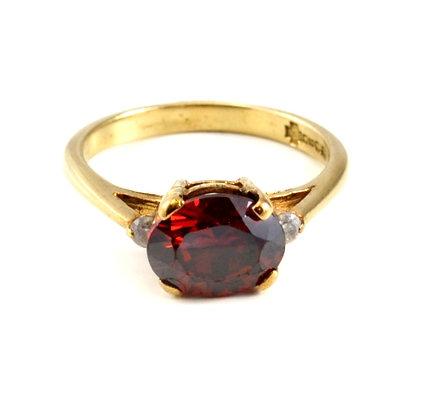 9ct Diamond Ruby