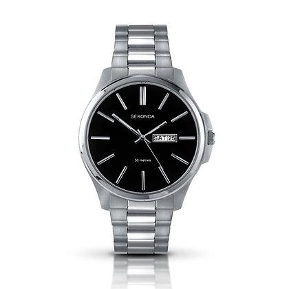 Sekonda Black & Silver