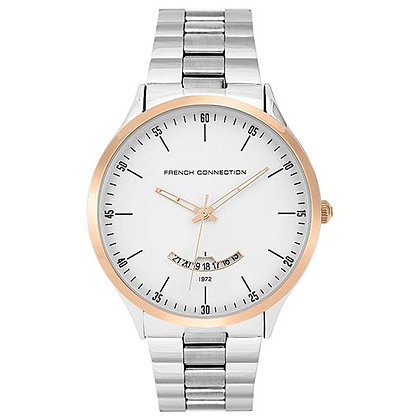 French Connection Gents Bracelet White