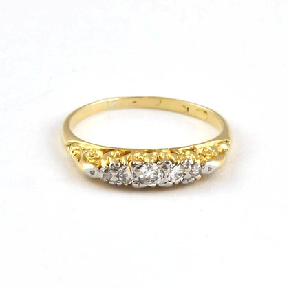 18ct Diamond 5 stone