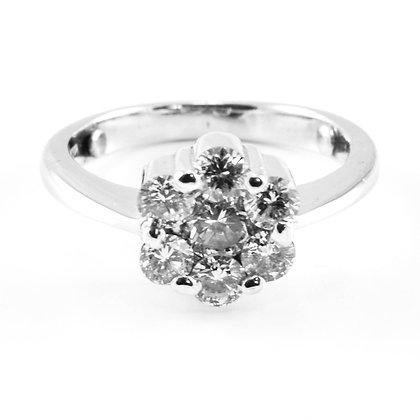 18ct Diamond Ring(0.94)