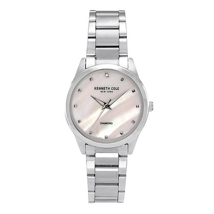 Kenneth Cole Ladies Silver Classic