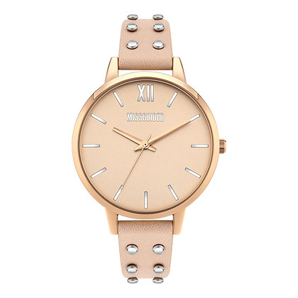 Missguided Gold Pink Strap