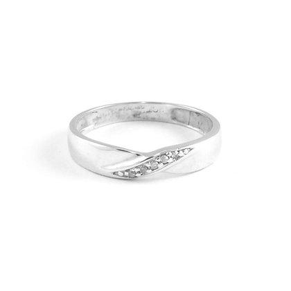 9ct White Diamond (0.01)