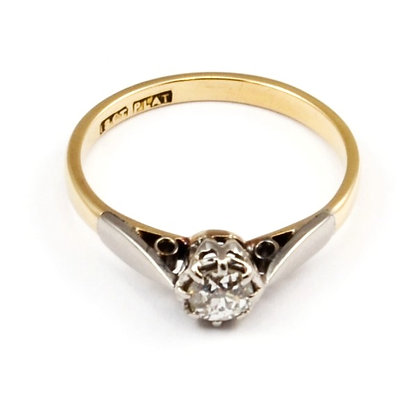18ct & Platinum Diamond (0.25)