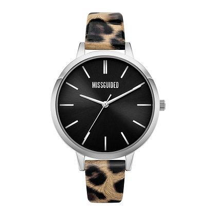 Missguided Cream Leopard Black