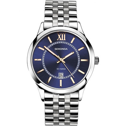 Sekonda Gents Blue Roman Bracelet