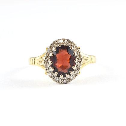18ct Yellow Diamond Ruby