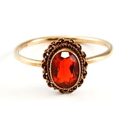 9ct Rose Fire Opal