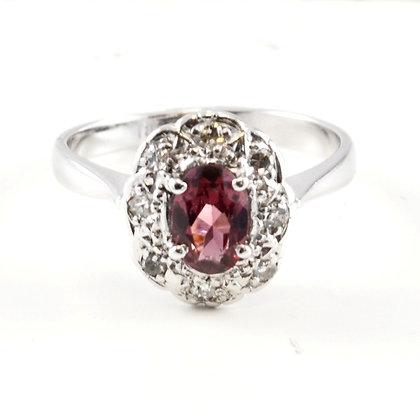 18ct Diamond Garnet