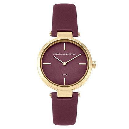 French Connection Ladies Minimal Dial