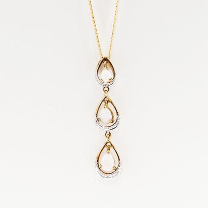 9ct Diamond Opal