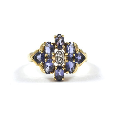 9ct Diamond Tanzanite