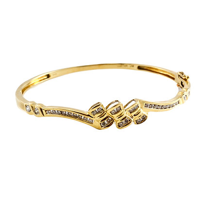 14ct Diamond Bracelet