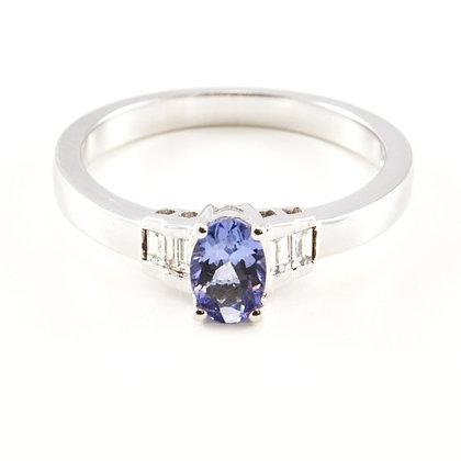 18ct Diamond Tanzanite