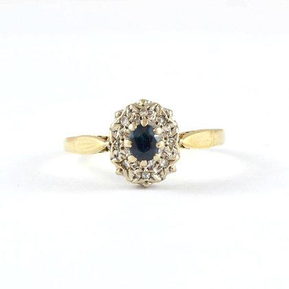 18ct Yellow Diamond Sapphire (0.20)