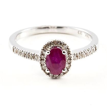 14ct Diamond Ruby
