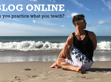 Do you practice what you teach?