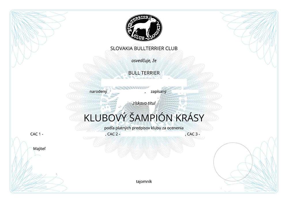 Klubový šampión krásySBC