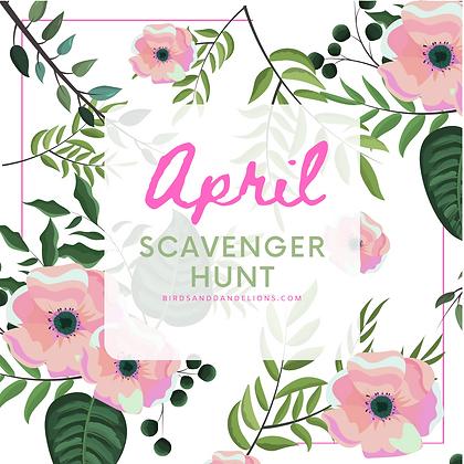 April Family Scavenger Hunt