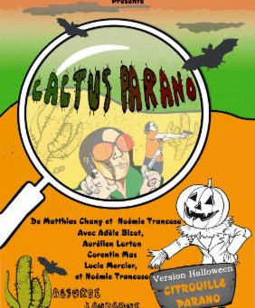 Cactus Parano version Halloween
