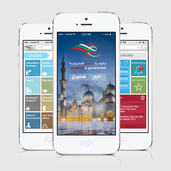 Abu Dhabi eGovernment Mobile App