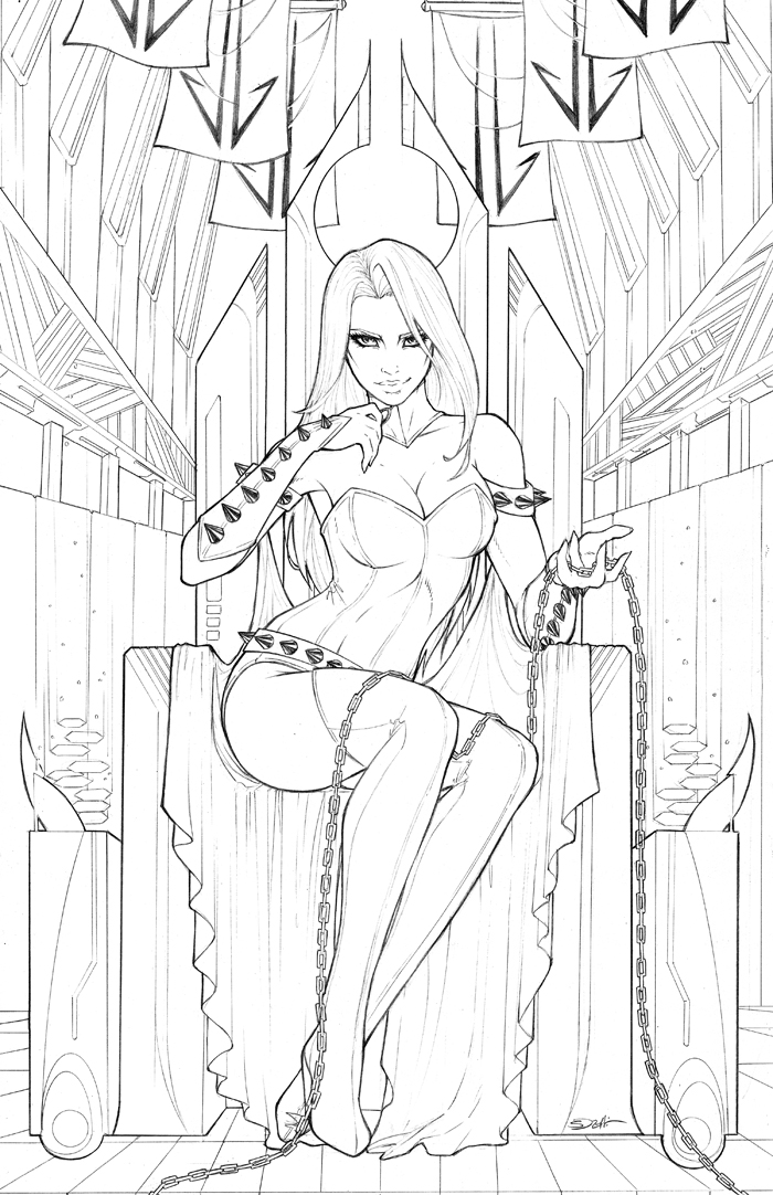 Karnal Sin on the Throne