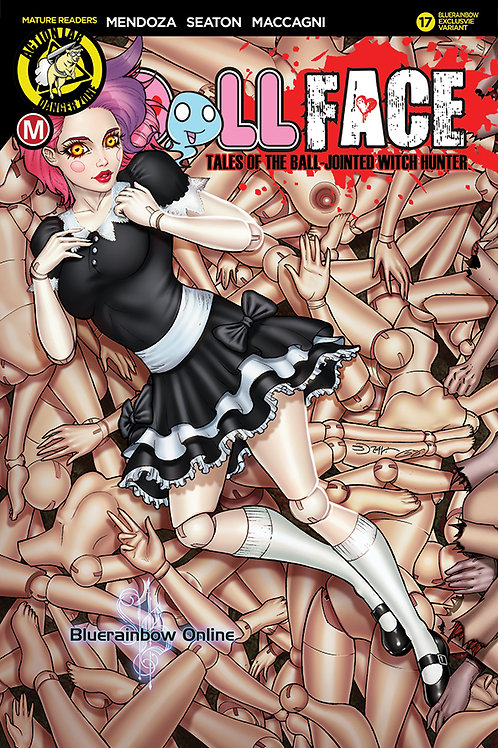DollFace #16 Bluerainbow Exclusive Ltd 500 Signed