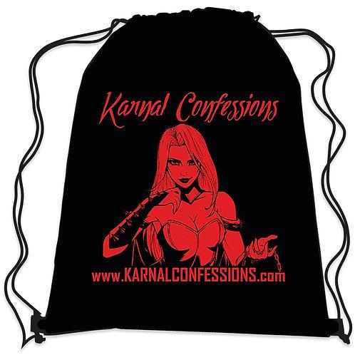 Karnal Confessions Drawstring Bag