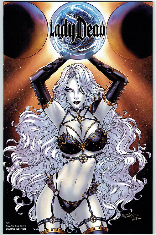 LADY DEATH: CHAOS RULES 1 ECLIPSE EDITION SORAH SUHNG ARTIST PROOF