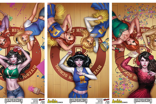 Vampironica Triple Set Prints